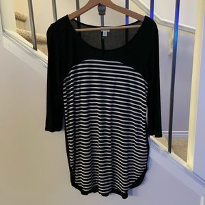 3 for $50 Dynamite 3/4 sleeve Top